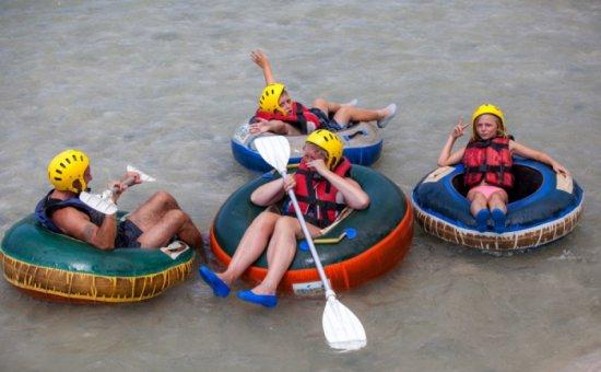 Saklıkent rafting Aktivität